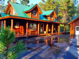 Log Cabin with Lake Access- Great for Groups - Donnelly vacation rentals