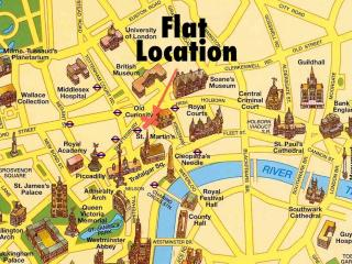 CENTRAL LUXURY FLAT—COVENT GARDEN—A/C—Easy Entry - London vacation rentals