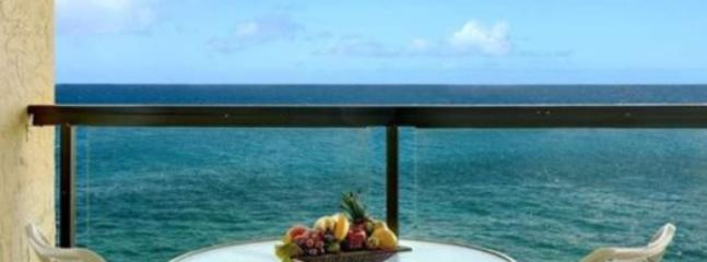 lanai - Free Car* with Poipu Shores 405A - One of the best views in Poipu from this renovated penthouse. - Poipu - rentals