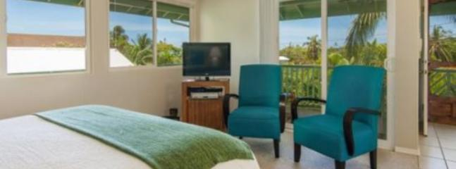 Bedroom - Hale Momo-Beautiful 4 bedroom home just ONE block from world-famous Poipu Beach - Poipu - rentals