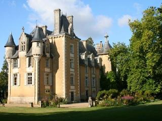 Chateau Allée uxury chateau rental in Potou loire valley  france - Rent chateau in the Loire region of France, castle rental for Frenc - Chauvigny vacation rentals