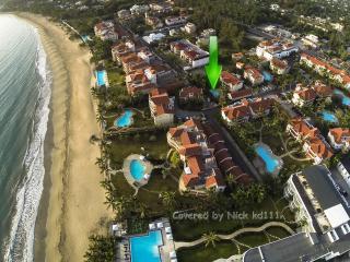 Stunning Art Deco 2/2 Ocean Dream beachfront apt - Cabarete vacation rentals