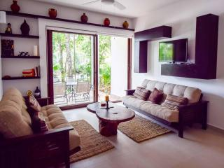 Serene 2bed/2bath TAO Ground Floor with Terrace - Spa and Golf - Akumal vacation rentals