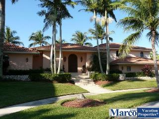 Modern house on key lot with large heated pool and panoramic waterway views - Marco Island vacation rentals