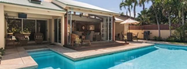 pool - Lei Ohana Estate-Beautiful house and guest house in Poipu with private pool, sleeps 10 - Poipu - rentals