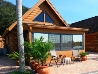 Log Cabin on Lake Okeechobee, Florida - Okeechobee vacation rentals