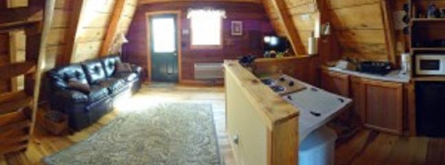 living area - Red River Outdoors - Wagon Wheel - Slade - rentals