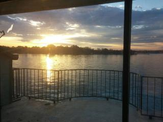Sunrise Lakefront View in N Houston on Lake Conroe - Willis vacation rentals