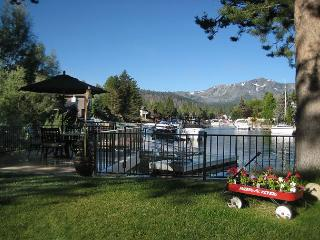 WATERFRONT TAHOE KEYS HOME WITH BOAT DOCK, 2 DECKS, HOT TUB, KAYAKS, VIEWS!!! - South Lake Tahoe vacation rentals
