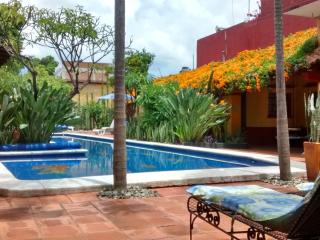 Villa with Pool & Gardens in Historic Center - Oaxaca vacation rentals