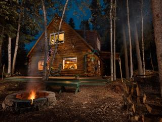 Private, Waterfront Cabin with Aurora & Wildlife - North Pole vacation rentals