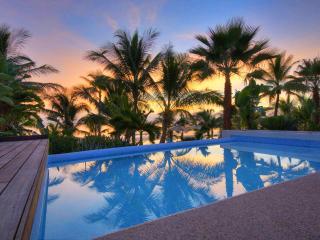 Resort Villa on beach with private pool & staff - Punta de Mita vacation rentals