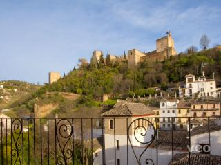 Carnero | Balcony with views of the Alhambra - Granada vacation rentals
