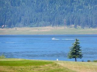 Lovely view of Cascade lake right out your front door. - Donnelly vacation rentals