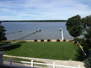 Lakefront Home with Warm Water and Private Dock - Whitehall vacation rentals