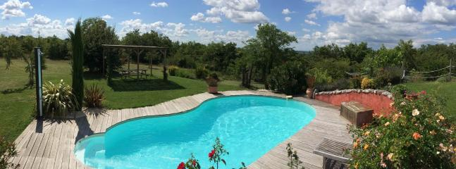 Heated pool and park - Superb villa heated pool & spa in the Southwest - Castelnau-de-Montmiral - rentals