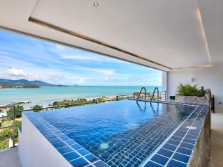 Serene Penthouse: 3 Bed with 180 degree Ocean View - Bophut vacation rentals