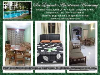 Sri Legenda Apartment Homestay - Kuah vacation rentals