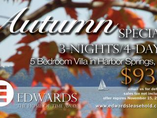Willow Villa, Pool & Beach, 5 Bd Rm - Harbor Springs vacation rentals